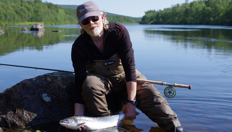 kola salmon готовый нахлыстовый