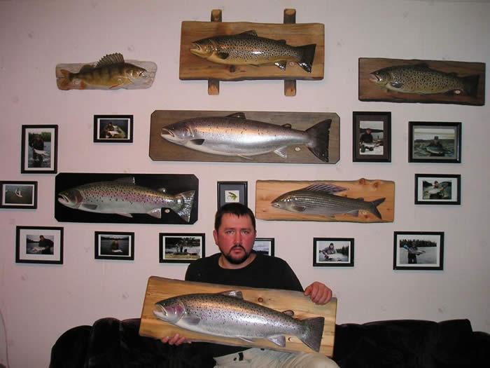 Муляжи рыб своими руками